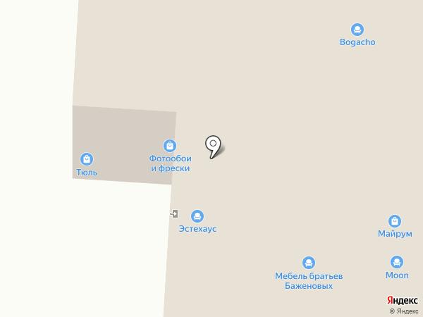 Двери Лэнд на карте Саранска