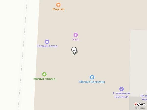 Имидж на карте Саранска
