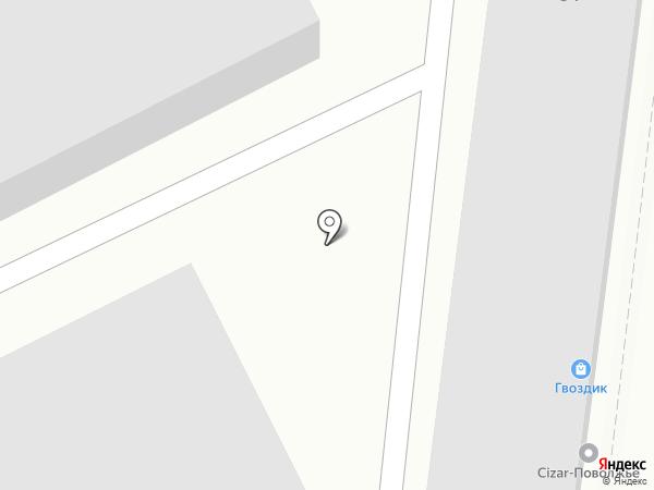 А-Цемент на карте Саранска