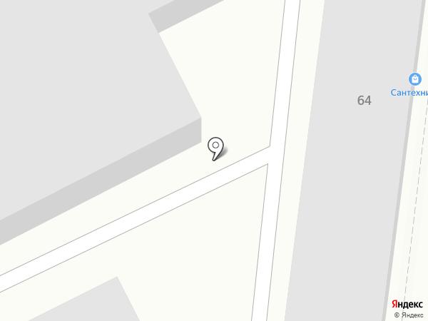 Магазин сантехники на карте Саранска