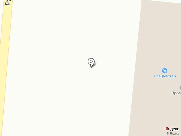 Серебряная нить на карте Саранска