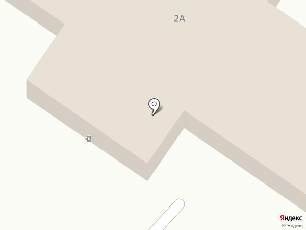 Баня №1 на карте Саранска