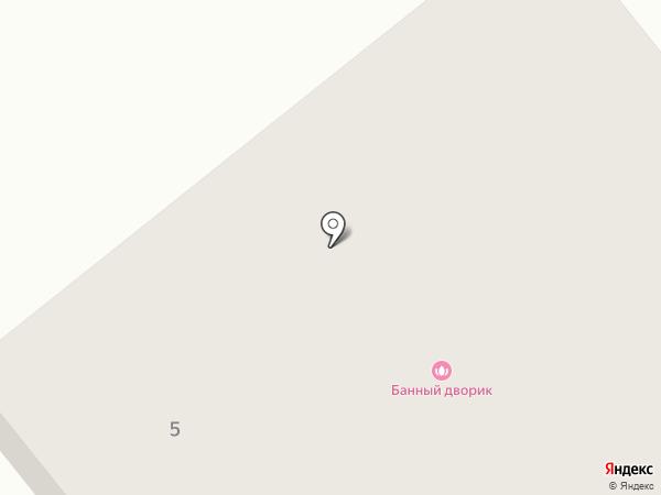 Банный Дворик на карте Заречного