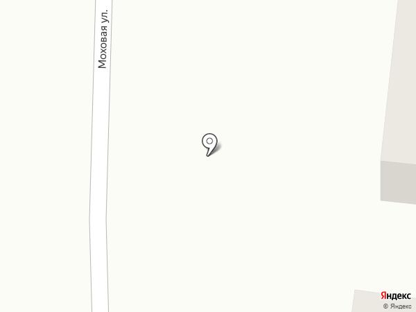 Баня на Моховой на карте Саранска