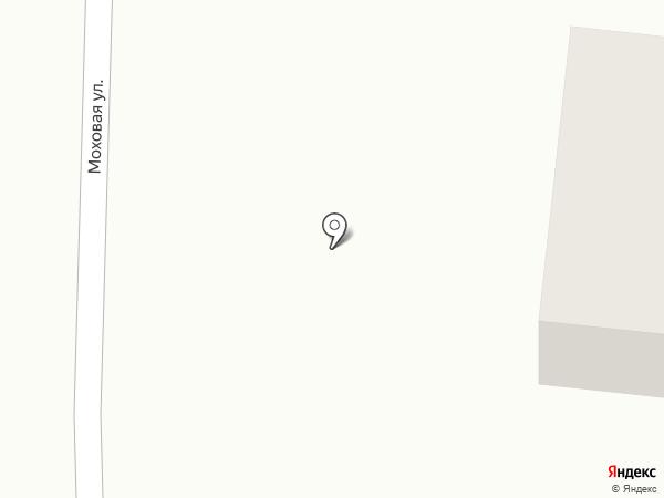 Баня на Моховой, 51 на карте Саранска