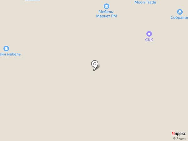 ЭБРИ на карте Саранска