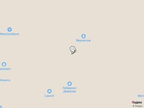 Любимая мебель на карте Саранска