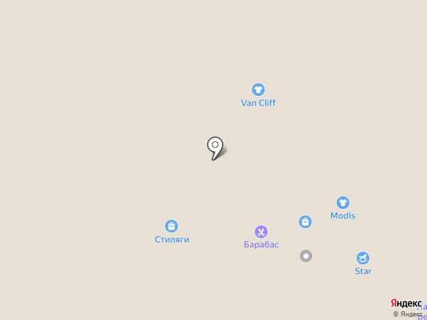 Лапоток на карте Саранска