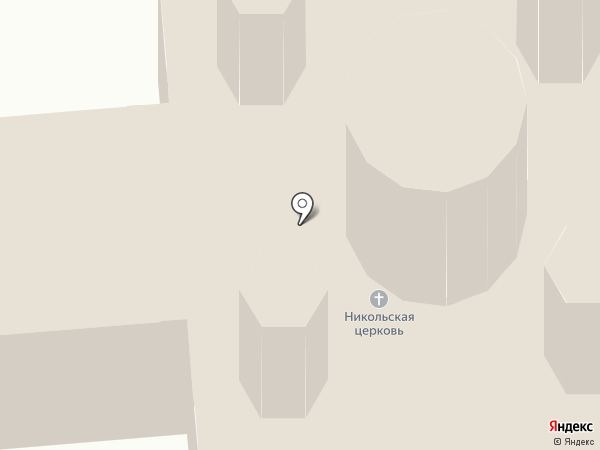 Церковь Николая Чудотворца на карте Саранска