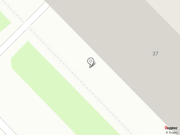 Форттранс на карте Саранска