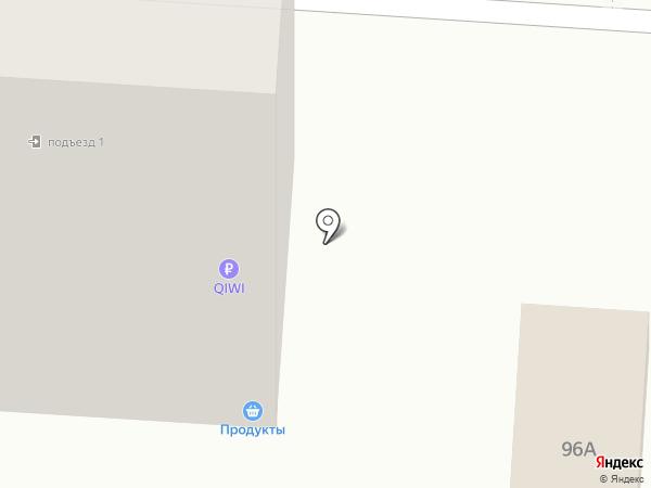 Продуктовый магазин на карте Саранска