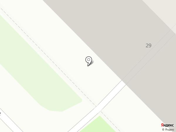Детская библиотека №7 на карте Саранска