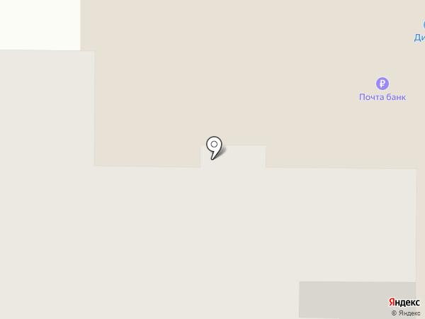 Эльфун на карте Саранска