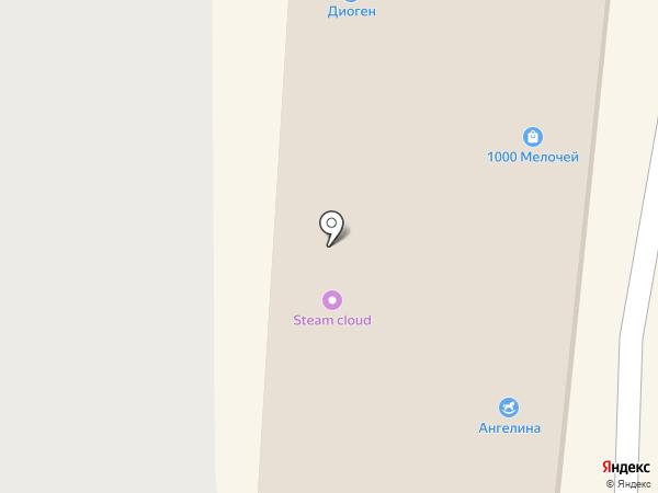 Магазин тканей на карте Саранска