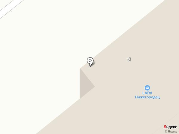 Саранск-Лада на карте Саранска