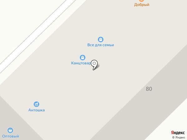 Винторг на карте Саранска