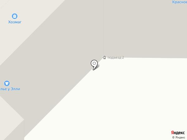Сеть аптечных пунктов на карте Саранска