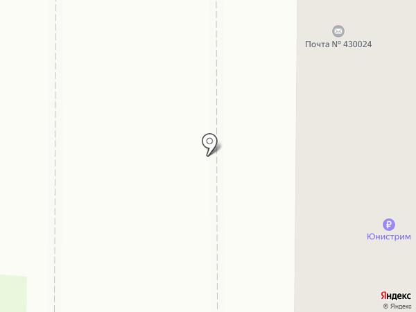 Почтовое отделение №24 на карте Саранска
