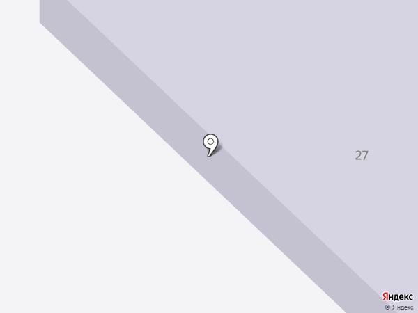 Луховский лицей на карте Саранска