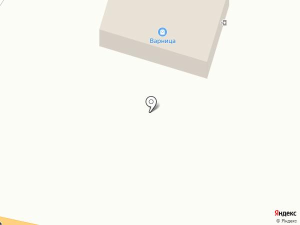 Перекресток на карте Чемодановки