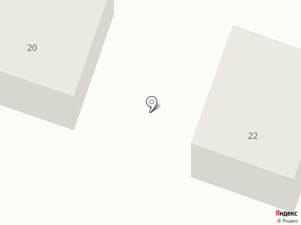 Светлая поляна на карте Чемодановки