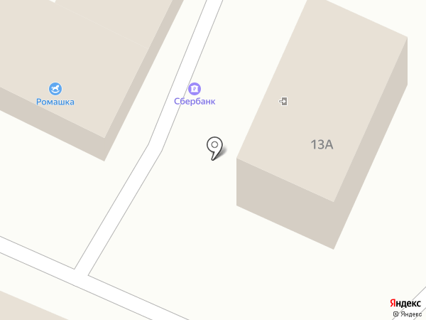 Поволжский банк Сбербанка России на карте Чемодановки