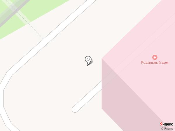 Родильный дом на карте Саранска