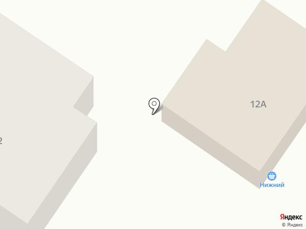 Нижний на карте Саранска
