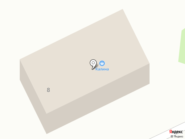 Калина на карте Сосновки