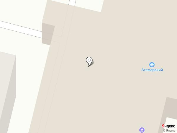 Банкомат, Россельхозбанк на карте Атемара