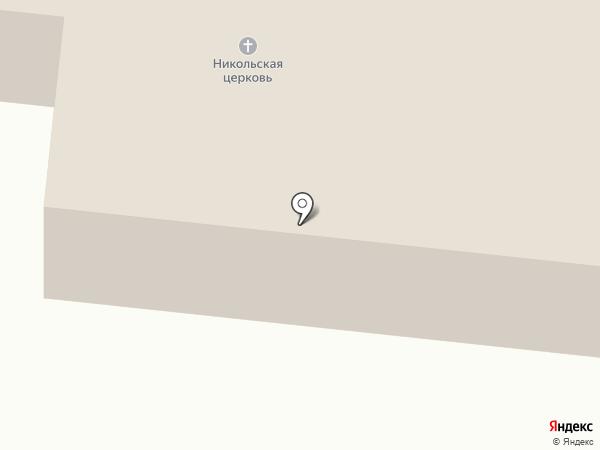 Церковь Николая Чудотворца на карте Атемара