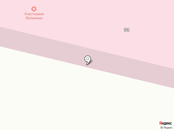 Атемарская амбулатория на карте Атемара