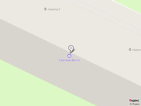 Светлый на карте Светлого