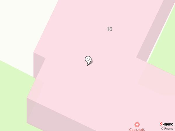 Медико-санитарная часть на карте Светлого