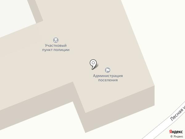 Администрация Краснооктябрьского муниципального образования на карте Красного Октября