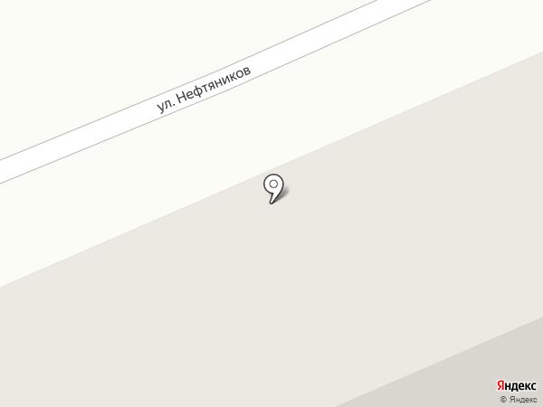 Гроздь на карте Красного Октября