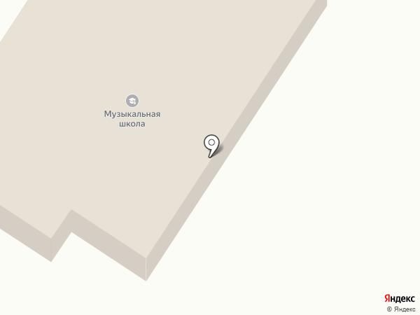 Детская школа искусств №1 на карте Михайловки