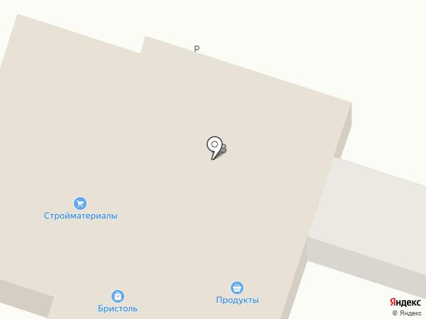 Продуктовый магазин на Центральной на карте Александровки