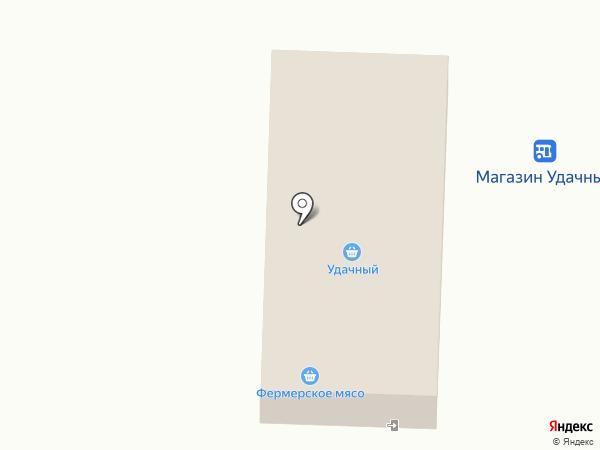 Удачный на карте Саратова