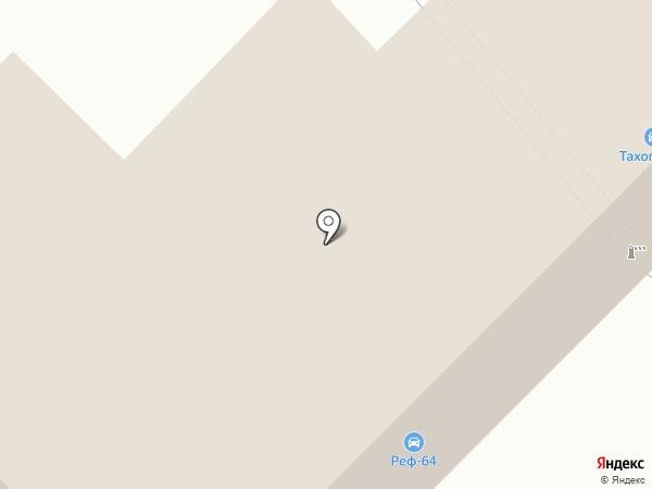 Старк Поволжье на карте Саратова