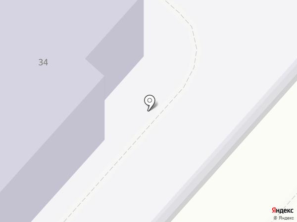 Участковый пункт полиции №17, Отдел полиции №4 на карте Саратова