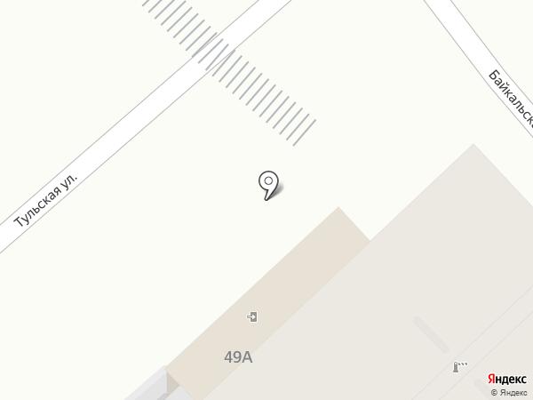 ЗМ на карте Саратова