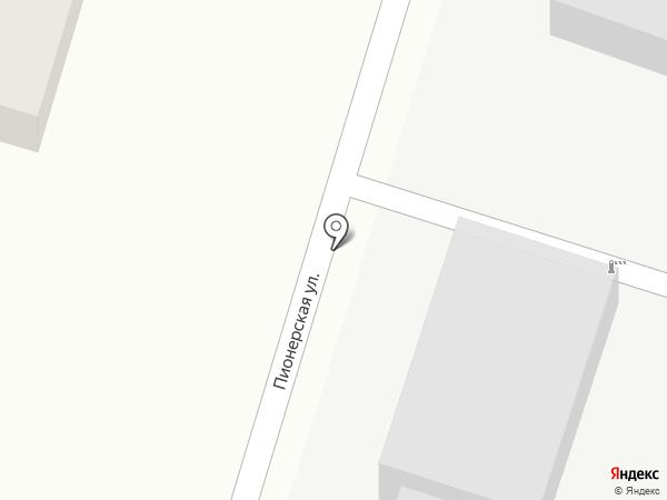 Пламя-К на карте Саратова