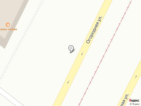 Алексеевская пекарня на карте Саратова