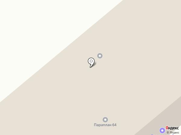 Теплогазоснабжение на карте Саратова