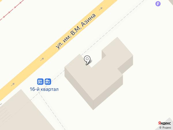 Городской расчетный центр на карте Саратова