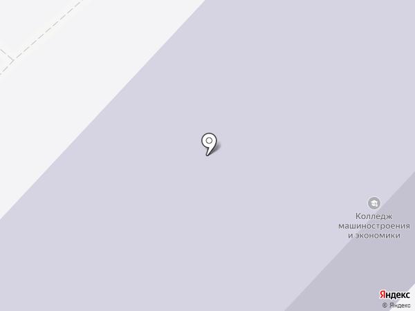 Саратовский колледж машиностроения и экономики на карте Саратова
