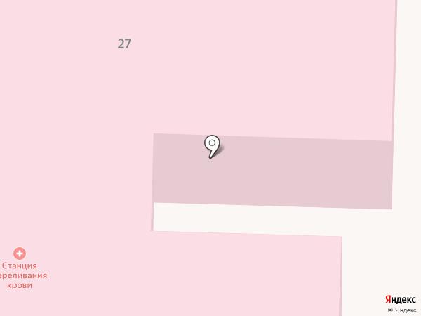 Саратовский областной центр крови на карте Саратова