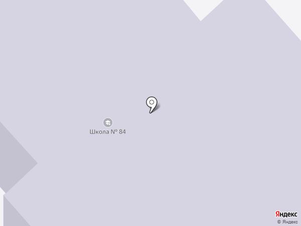 Средняя общеобразовательная школа №84 на карте Саратова