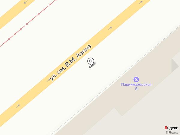 Магазин женской одежды на карте Саратова